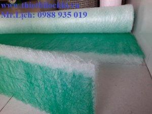 Khám phá ưu điểm tuyệt vời của bông lọc sàn phòng sơn sợi thủy tinh
