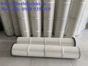 Lõi lọc bụi polyester ứng dụng rộng rãi trong mọi môi trường sử dụng
