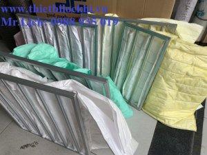Giới thiệu tổng quan về túi lọc khí AHU