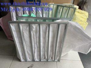 Túi lọc bụi AHU là sản phẩm lọc bụi thông minh